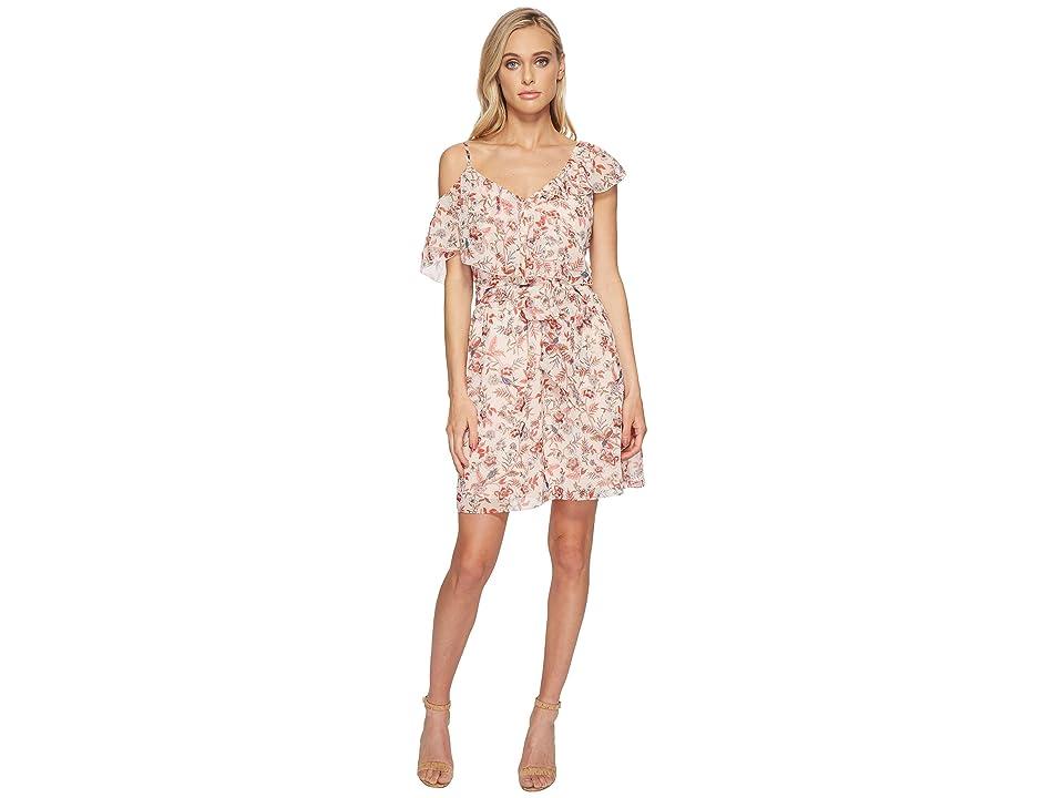 kensie Secret Garden Dress KS4K8200 (Seashell Combo) Women