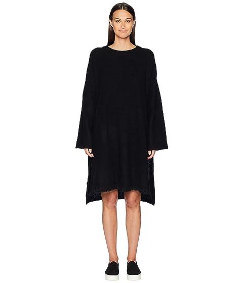 Y's by Yohji Yamamoto Fringe Knit Dress