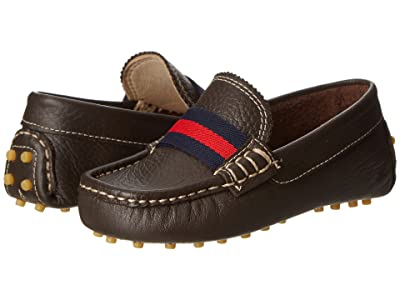 Elephantito Club Loafer (Toddler/Little Kid/Big Kid) (Brown) Boys Shoes