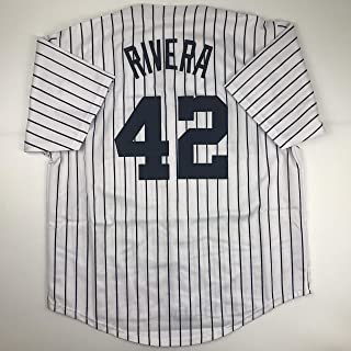 Unsigned Mariano Rivera New York Pinstripe Custom Stitched Baseball Jersey Size Men's XL New No Brands/Logos