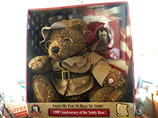 Theodore Roosevelt Teddy's Teddy Talking 100th Anniversary Bear Ltd. Edition