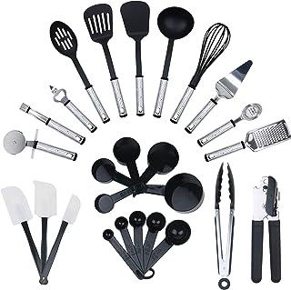 KRONENKRAFT Set d'accessoires de cuisine de 26 pièces , set de cuisson ,ensemble d' ustensiles de cuisine - Pour cuisiner ...