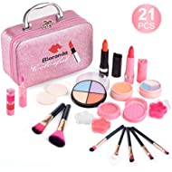 Bloranda Real Makeup Toy for Girls,Safe & Non-Toxic Washable Cosmetics with Box for Party Game...