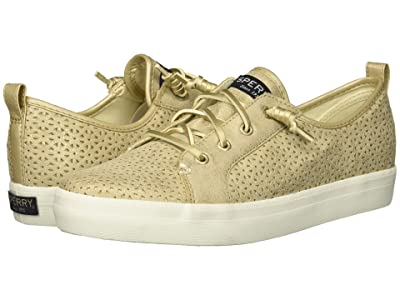 Sperry Kids Crest Vibe Perf (Little Kid/Big Kid) (Champagne Perf Synthetic) Girls Shoes