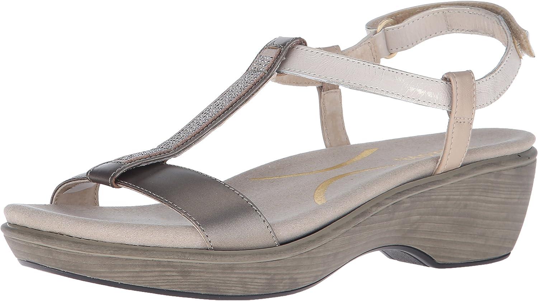 Naot Womens Marsanne Wedge Sandal