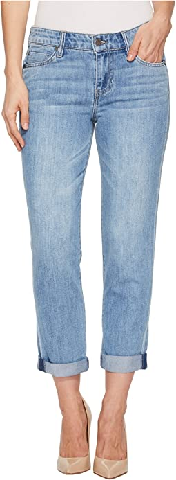 Cameron Relaxed Cropped Boyfriend in Classic Soft Rigid Denim in Alton