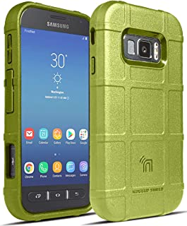 Case for Galaxy XCover FieldPro, Nakedcellphone [Olive OD Green] Special Ops Tactical Armor Rugged Shield Phone Cover [Ant...