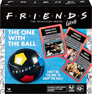 Friends '90s Nostalgia TV Show, The One With The Ball Party Game, for Teens and Adults, Multicolor, Spin Master, 6053618, ...