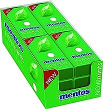 Mentos NOWMint Tin, Spearmint, Halloween Candy, Bulk, 1.09 Ounce/50 pieces (Pack of 12)