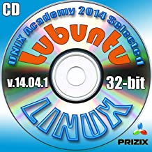 Lubuntu 14.04.1 Linux CD 32-bit Full Installation Includes Complimentary UNIX Academy Evaluation Exam