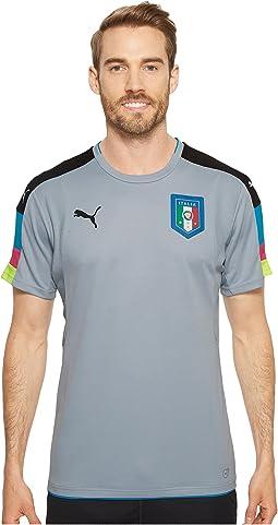 FIGC Italia Goalkeeper Short Sleeve Shirt