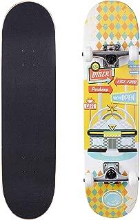 seven skateboards