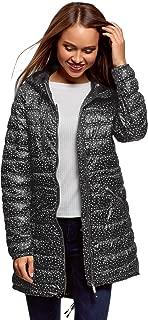 oodji Ultra Women's Long Jacket with Asymmetric Hem