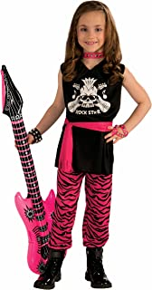 Forum Novelties Rock Star Girl Child Costume, Medium