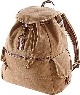 Quadra Vintage Canvas Backpack - 18 Litres (Pack of 2)