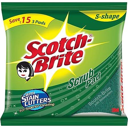 Scotch-Brite Scrub Pad, Large (Pack of 6) (H18-4878)