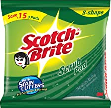 Scotch-Brite Scrub Pad, Large (Pack of 6)