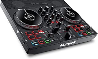 Numark Party Mix Live - DJ Controller / DJ Set met DJ Verlichting, DJ Luidsprekers en DJ Mixer voor Serato DJ Lite en Algo...