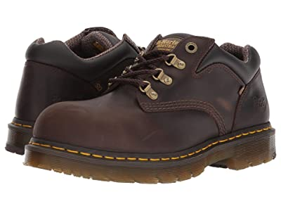 Dr. Martens Work Hylow Steel Toe (Gaucho) Lace up casual Shoes
