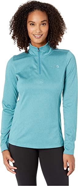 26b799b8a82 The north face glacier 1 4 zip fleece top cosmic blue heather cosmic ...