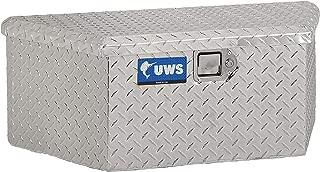UWS EC20411 34-Inch Heavy-Wall Aluminum Trailer Tongue Tool Box with Low Profile, RigidCore Lid