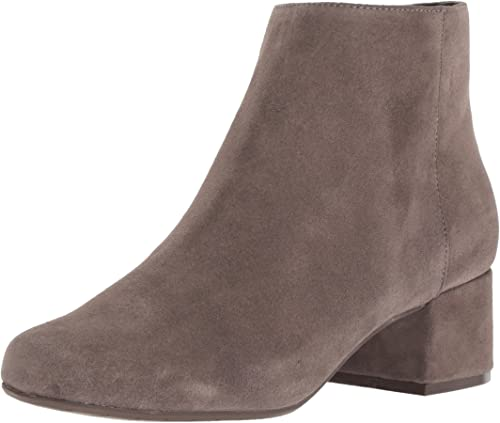 Kenneth Kenneth Cole REACTION Wohommes Road Block Ankle démarrageie with Faible Heel démarrage, Dark Taupe, 9 M US  100% garantie d'ajustement
