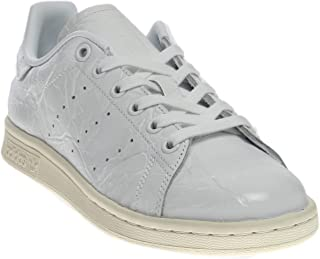 Womens Stan Smith Tennis Casual Sneakers, White, 9