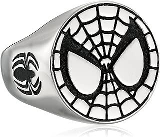 Unisex Spider-Man Stainless Steel Ring