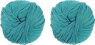 JubileeYarn Bamboo Cotton Blend Sport 4 Ply Yarn - 100g/skein - Frozen Tidepool - 2 Skeins