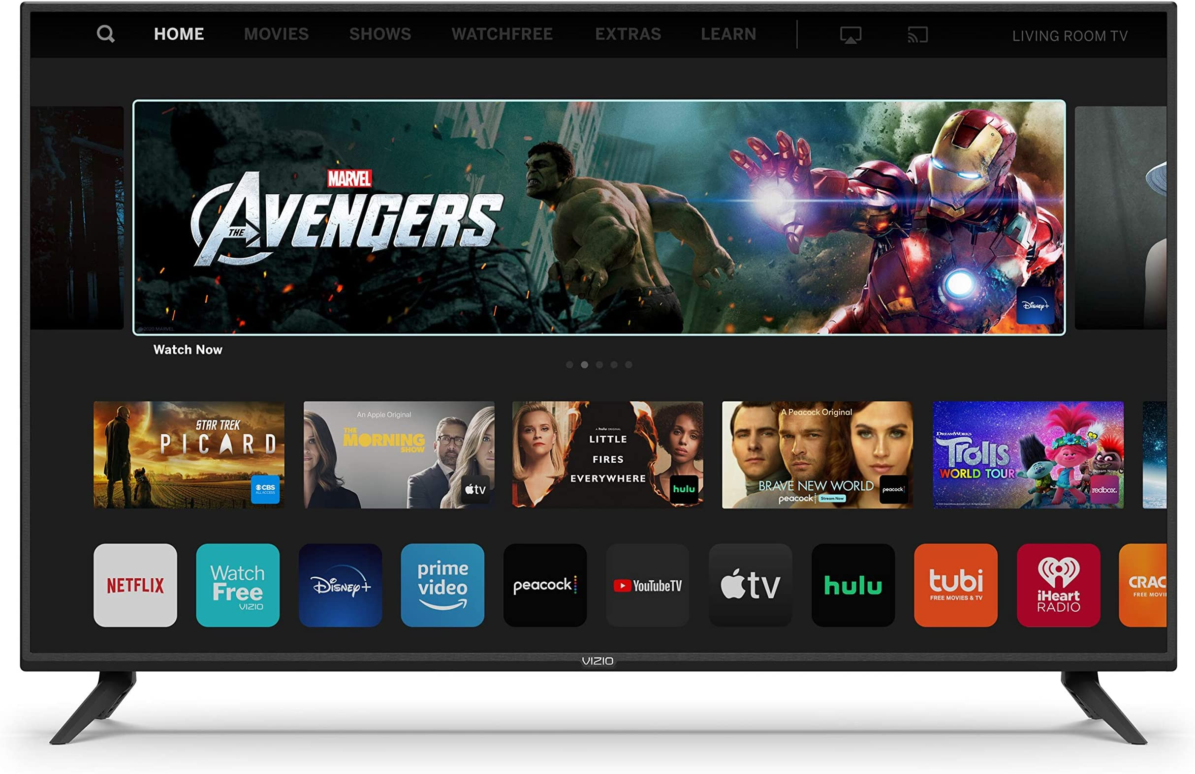 VIZIO 40-Inch V-Series 4K UHD LED HDR Smart TV with Apple AirPlay and Chromecast Built-in, Dolby Vision, HDR10+, HDMI 2.1, Auto Game Mode and Low Latency Gaming (V405-H19)