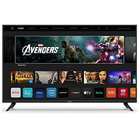 VIZIO 50-inch V-Series - 4K UHD LED HDR Smart TV with Apple AirPlay and Chromecast Built-in, Dolby Vision, HDR10+, HDMI 2.1, Auto Game Mode and Low Latency Gaming (V505-H19, 2020)