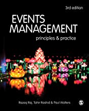 Events Management: Principles and Practice