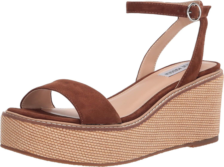Steve Madden Women's Platform Selling and selling Fashion Sandal Wedge