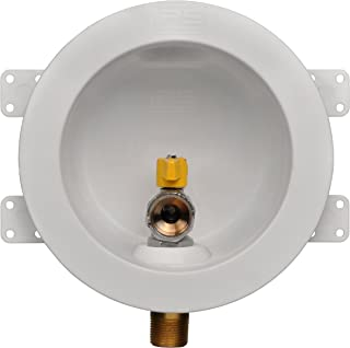 Water-Tite 87861 Round Gas Outlet Box with 3/4