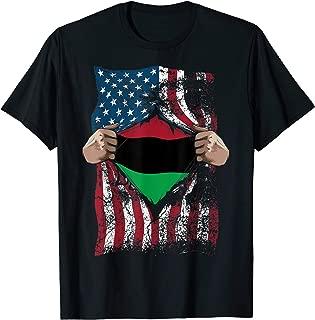 Pan African Unia Flag Shirt | Loyal Afro-Americans USA Gift