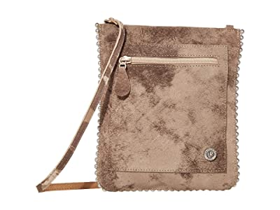 Leatherock Edith Cell Pouch (Camo Taupe) Cross Body Handbags