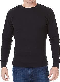 Thermal Shirts for Men - Mens Waffle Long Sleeve Shirt - Heavyweight Thermal Top
