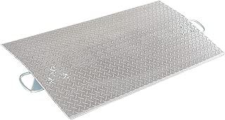 Vestil E-4824 Aluminum Economizer Dock Plate, 5,200-lb. Capacity, 24