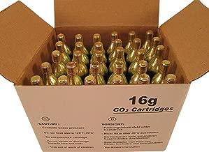 Mosa 16 Gram Threaded Co2 Cartridges (Pack of 30)