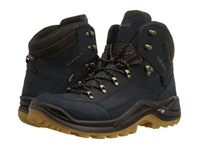 Lowa Renegade GTX(r) Mid (Navy/Honey) Men
