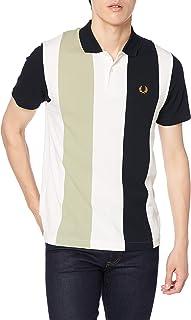 [フレッドペリー] ポロシャツ BOLD STRIPE POLO SHIRT M8640 メンズ 129_SNOW WHITE UK XS (日本サイズS相当)