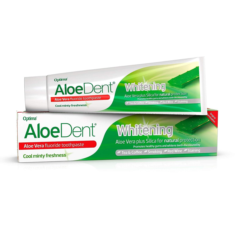 AloeDent Oakland Mall Whitening Alow Vera New York Mall 100ml Fluoride Toothpaste