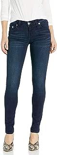 Women's Stella Mid Rise Dark Indigo Skinny Leg Fit Jean