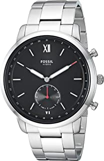 Fossil Men's Neutra Stainless Steel Hybrid Smartwatch with Activity Tracking and Smartphone Notifications