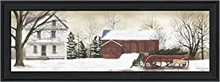 Trendy Decor4U Christmas Trees for Sale By Billy Jacobs Printed Wall Art, 15 Inch x 39 Inch