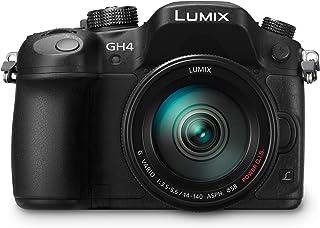 Panasonic Lumix DMC-GH4HEB-K kit (14-140mm lente), video HD [Regno Unito]