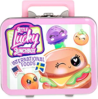 Little Lucky Lunch Box 10510BF2 Little Lucky Surprise-10 Styles Wave 2 Girls Collectible Lunchbox, Multicolour