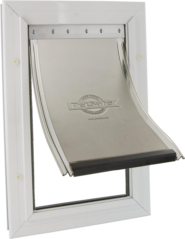 PetSafe, Staywell, Aluminium Pet Door, Extra Large, Solid Design, Easy Install