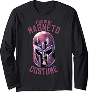Magneto This Is My Costume Long Sleeve T-Shirt