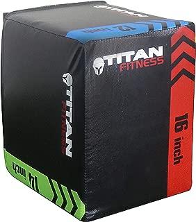 Titan 3-in-1 Heavy Foam Plyometric Box 12